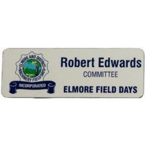 Name Badge Elmore Field Days400