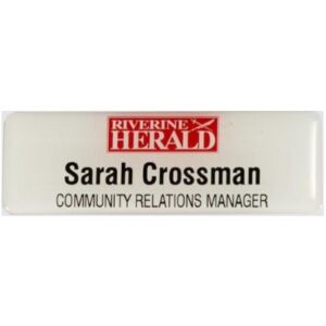 Name Badge Riv Herald400